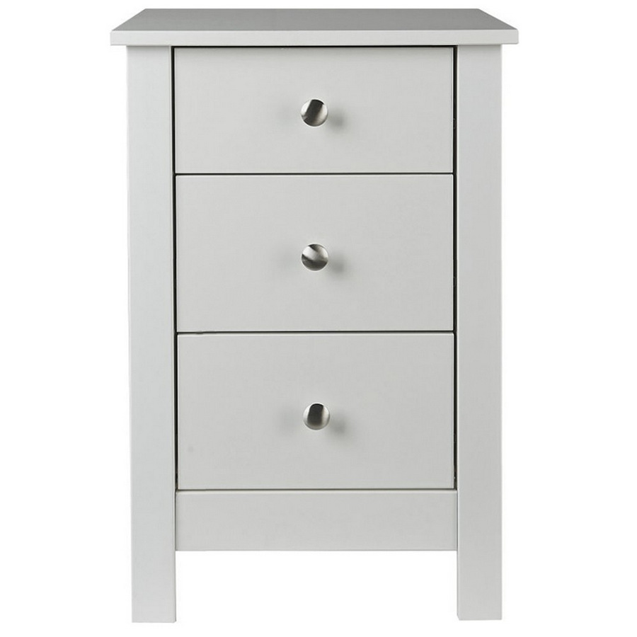 Abdabs Furniture Florence White Bedside Table
